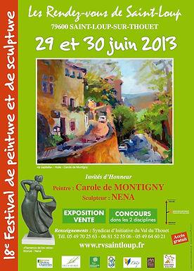 aintloup I festival I peinture I 2013