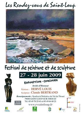aintloup I festival I peinture I 2009