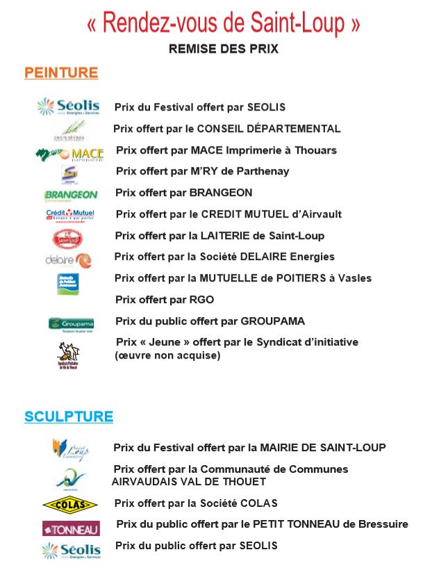 prix du festival de saint-loup-sur-thoue