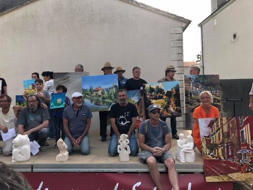 Les artistes primés pour la 23ème édition des 23 et 24 juin 2018