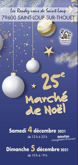 4 et 5 décembre 2021 marché de Noël