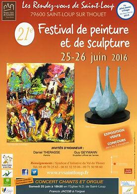 aintloup I festival I peinture I 2016