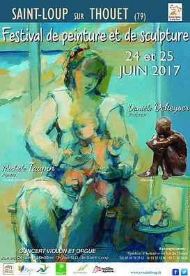 festival I peinture I rendez-vous saint-loup I 2017