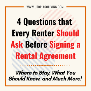 4 Questions that Every Renter Should Ask Before Signing a Rental Agreement @Room Rental KL