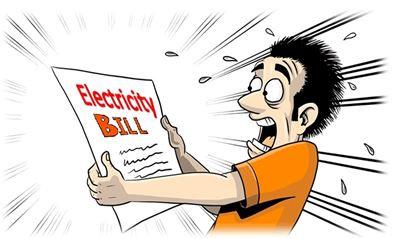 shocking utilities bill