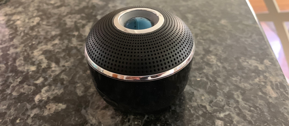 Brookstone's Big Blue Mini