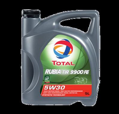 Total Омега Сервис масло Тотал rubia 9900 FE 5W-30
