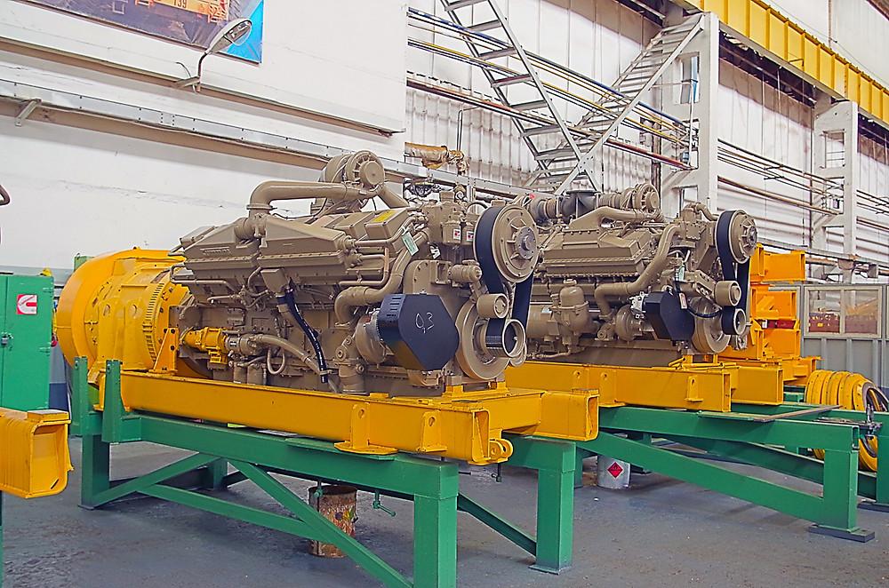 дизель-генераторная установка белаза