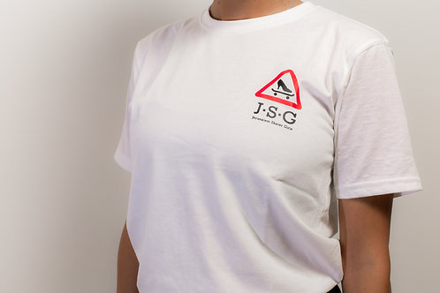 OFFICIAL JSG White t-shirt