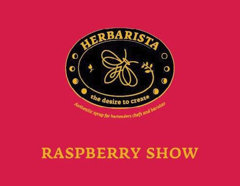 Сироп Raspberry Show (Малина с листьями)