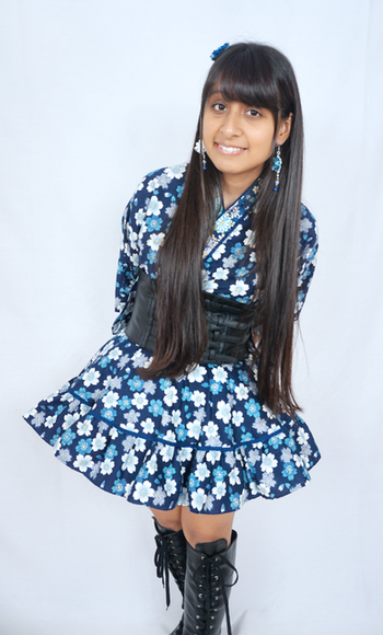 Original outfit ~ Kimono black version ~