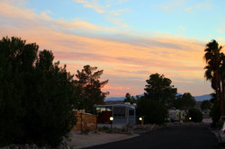 Desert Sunset at Sky Valley
