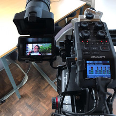JoVE film session