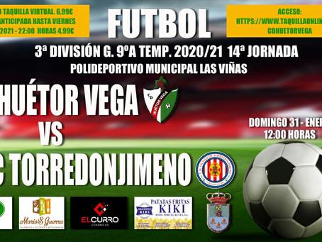 ¿Cómo puedo ver el CD Huétor Vega vs UDC Torredonjimeno?