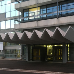 Main entrance to the Faculty of Chemistry