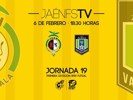 ¿Quieres emitir los partidos de tu equipo en nuestra plataforma? ¡Haz como el Jaén FS y pregúntanos!