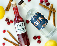 Woods Spirit Co Cinnamon Raspberry G&T