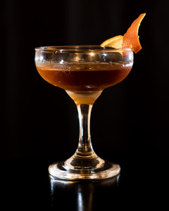 Rye and Brandy Cocktail