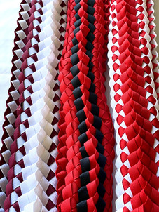 Silk Ribbon Leis