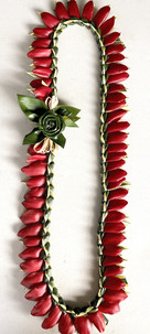 Song of India Red Ginger Lei