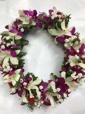 Mutli-colored Orchid Headband