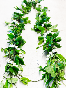 Maile Lei with Crown Flower