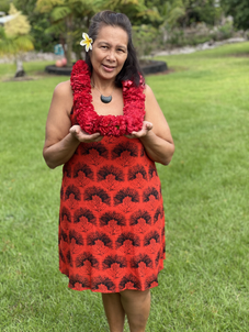 Red Carnation Lei