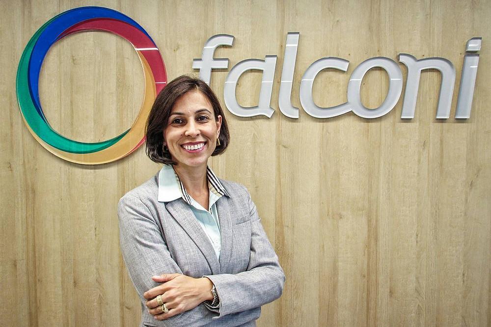 Viviane Martins, CEO of Falconi