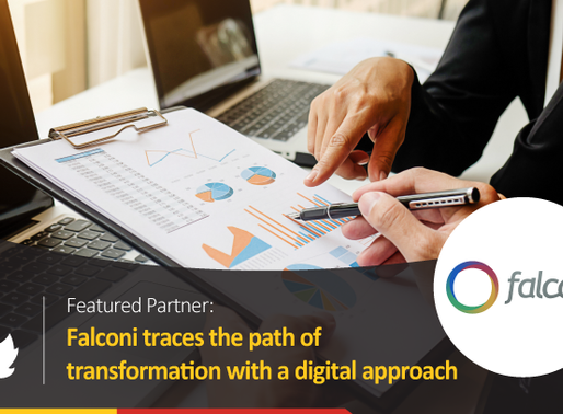 Falconi traces the path of transformation with a digital approach