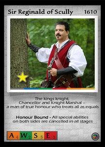 P&P Card 1610 - Sir Reginald