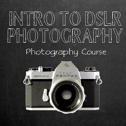 101 - Intro to DSLR Photography