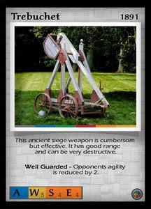 P&P Card 1891 - Trebuchet
