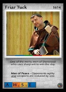 P&P Card 1614 - Friar Tuck