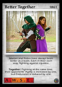 P&P Card 1861 - Better Together