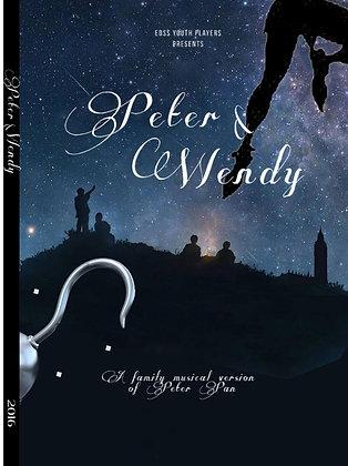 """""""Peter & Wendy"""" 2016 EDSS Play DVD"""