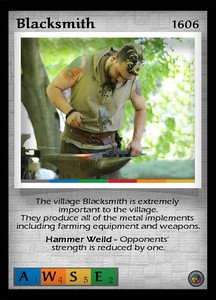 P&P Card 1606 - The Blacksmith