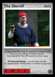 P&P Card 1603 - The Sheriff