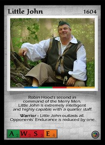 P&P Card 1604 - Little John