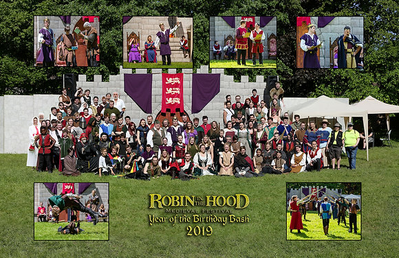 2019 Robin in the Hood Cast Photo