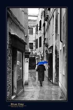 24 x 36 Print: Blue Day