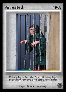 P&P Card 19-A - Arrested