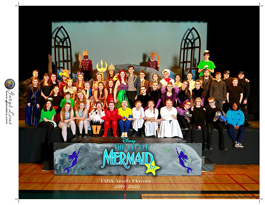 """The Little Mermaid Jr"" 2020 EDSS Group Photo"
