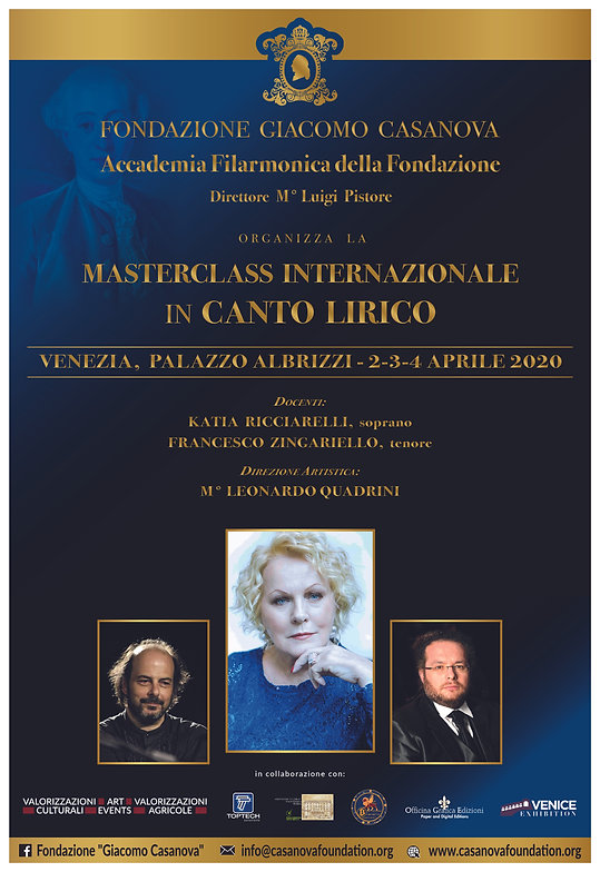Locandina Master Ricciarelli VENEZIA uff