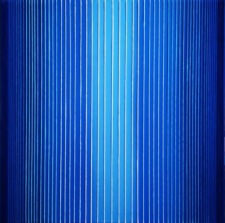 Verticality in blue variation#3