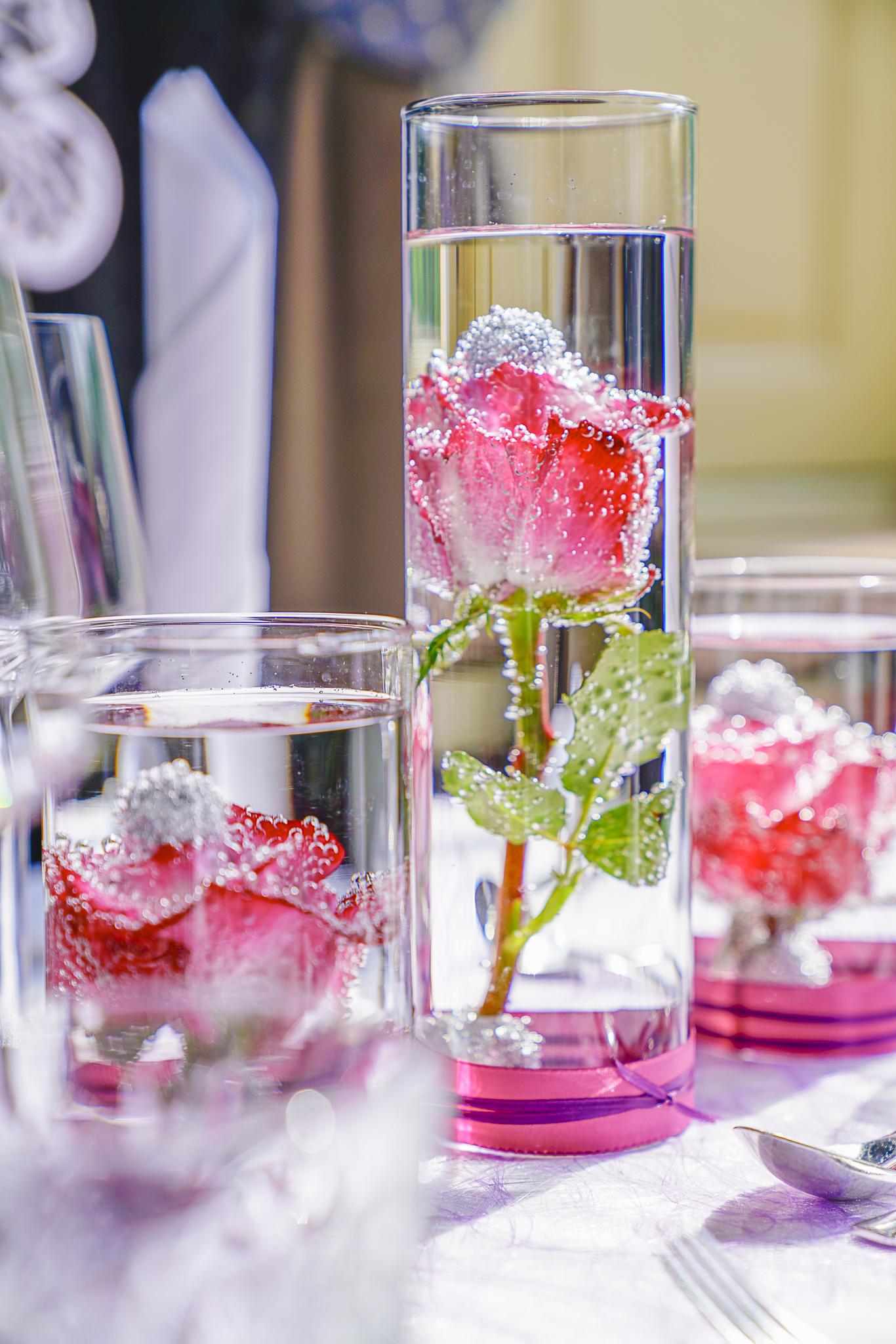 Getauchte Rosen