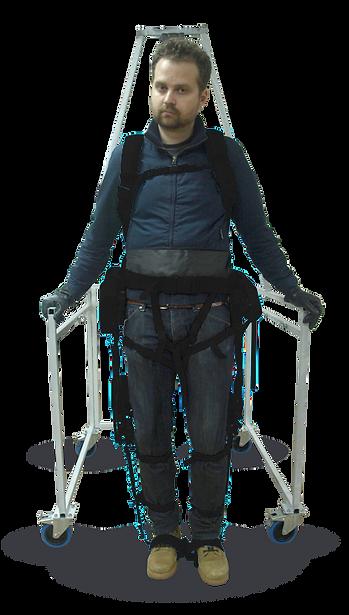 Axosuits exoskeleton in use
