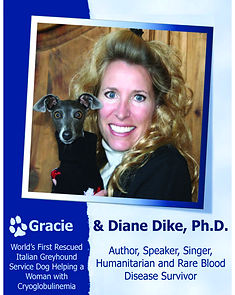 Cryoglobulinemia Vasculitis Nonprofit Speaker, Dr. Diane Dike