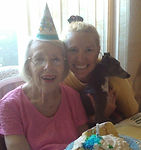 Diane Dike's Mother, Multiple Myeloma Warrior, October 23, last birthday together