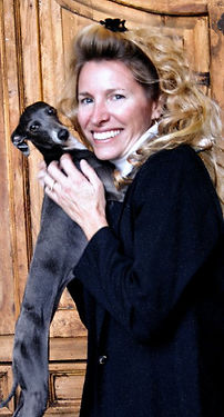 Dr. Diane Dike, Gracie the Italian Greyhound Service Dog