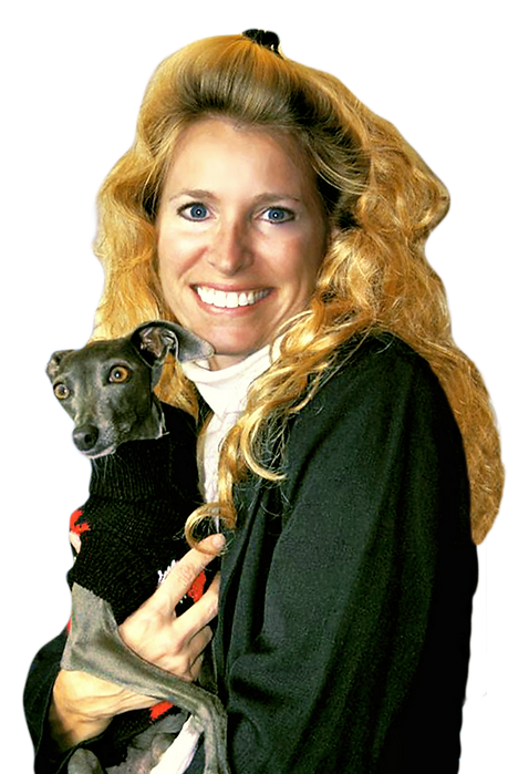 Dr. Diane Dike, Gracie the Italian Greyhound Service Dog, Nonprofit Second Chance with Saving Grace Founder